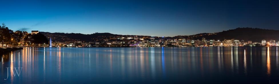 Wellington City Panorama